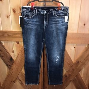 "NWT Silver ""Elyse"" Jeans"